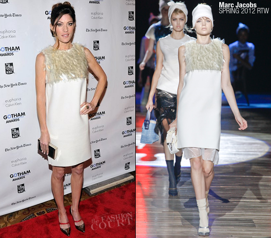 Jennifer Carpenter in Marc Jacobs | IFP's 21st Annual Gotham Independent Film Awards