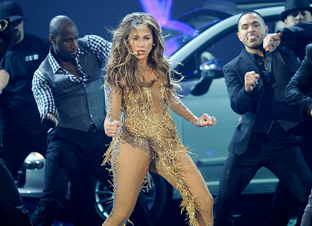 Jennifer Lopez performs 'Papi' & 'On The Floor' at the 2011 American Music Awards!