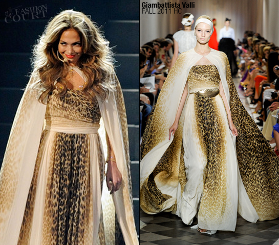 Jennifer Lopez in Giambattista Valli | 2011 American Music Awards