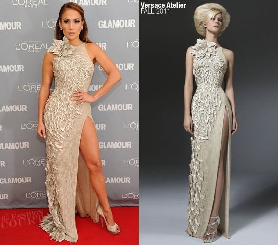 Jennifer Lopez in Versace Atelier | 2011 Glamour Women Of The Year Awards