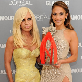 Donatella Versace & Jennifer Lopez | 2011 Glamour Women Of The Year Awards