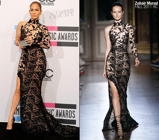 Jennifer Lopez in Zuhair Murad | 2011 American Music Awards