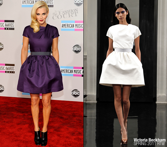 Jenny McCarthy in Victoria Beckham | 2011 American Music Awards