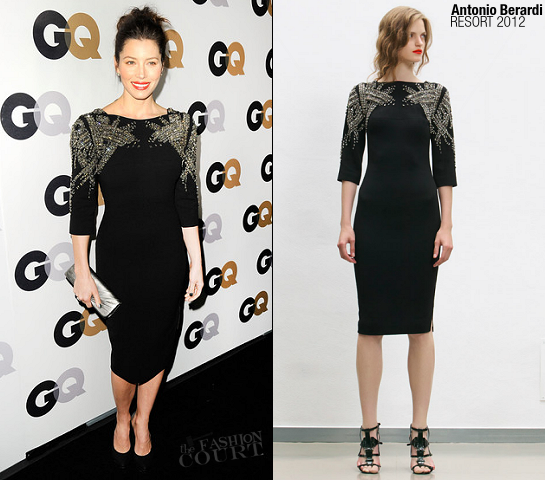 Jessica Biel in Antonio Berardi | 16th Annual GQ 'Men Of The Year' Party