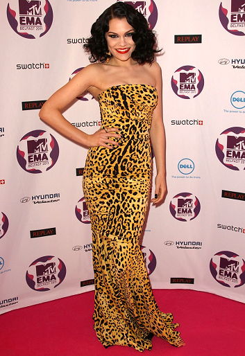 Jessie J in Dolce & Gabbana | MTV Europe Music Awards 2011