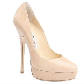 Jimmy Choo EROS Patent Leather Platform Pumps