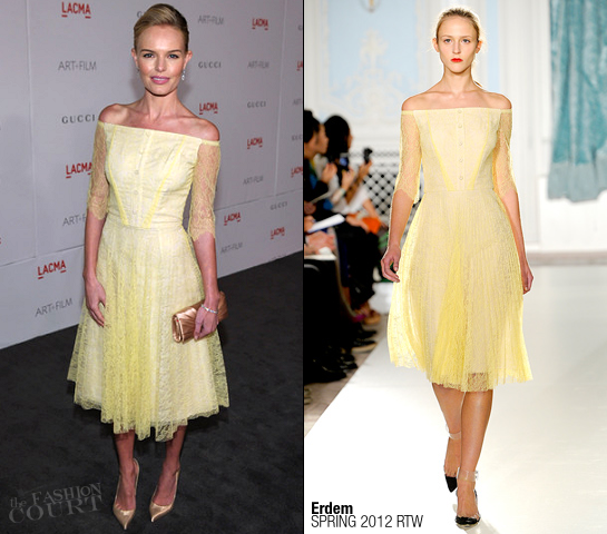 Kate Bosworth in Erdem | LACMA Art + Film Gala presented by Gucci