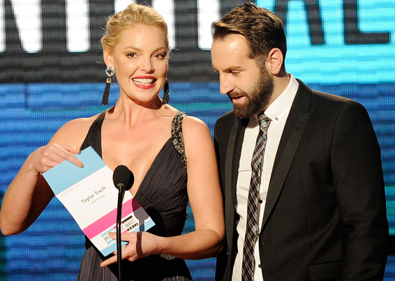Katherine Heigl & Josh Kelley | 2011 American Music Awards