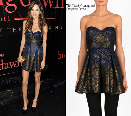Kelsey Chow in Tibi | 'The Twilight Saga: Breaking Dawn - Part 1' LA Premiere