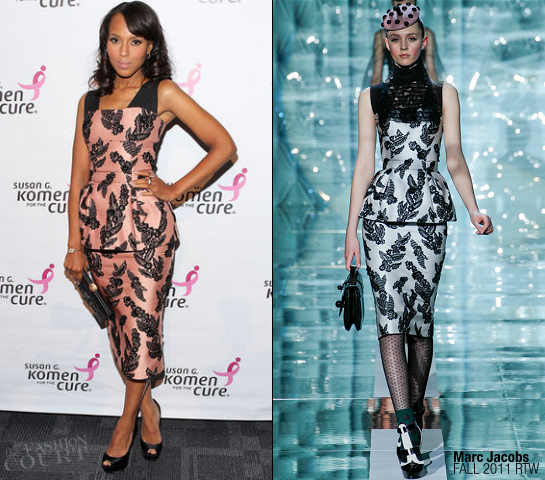 Kerry Washington in Marc Jacobs | 2011 Susan G. Komen For The Cure's Honoring The Promise Benefit