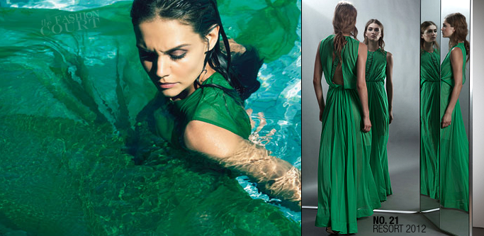 Katie Holmes in No. 21 | Marie Claire, November 2011