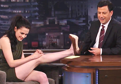 Kristen Stewart in Camilla and Marc | 'Jimmy Kimmel Live'