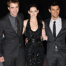 Robert Pattinson, Kristen Stewart & Taylor Lautner | 'The Twilight Saga: Breaking Dawn - Part 1' London Premiere