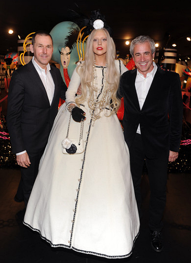 Lady Gaga in Chanel | Gaga's Workshop at Barneys New York Opening
