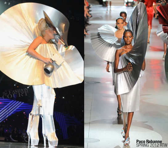 Lady Gaga in Paco Rabanne | MTV Europe Music Awards 2011