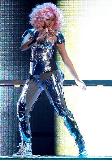 Nicki Minaj in Johnny Wujek | 2011 American Music Awards