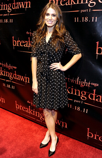 Nikki Reed in Dolce & Gabbana | 'The Twilight Saga: Breaking Dawn - Part 1' Concert Tour - San Francisco