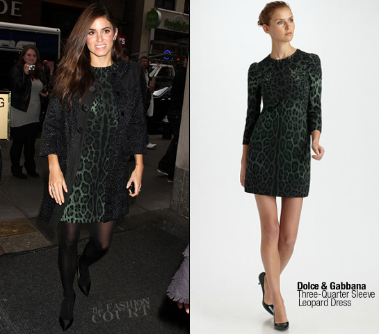 Nikki Reed in Dolce & Gabbana and Chloe | 'The Today Show'