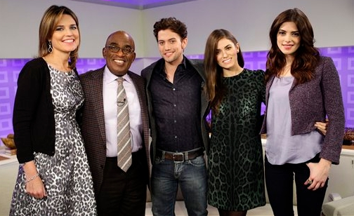 Jackson Rathbone, Nikki Reed & Ashley Greene | 'The Today Show'
