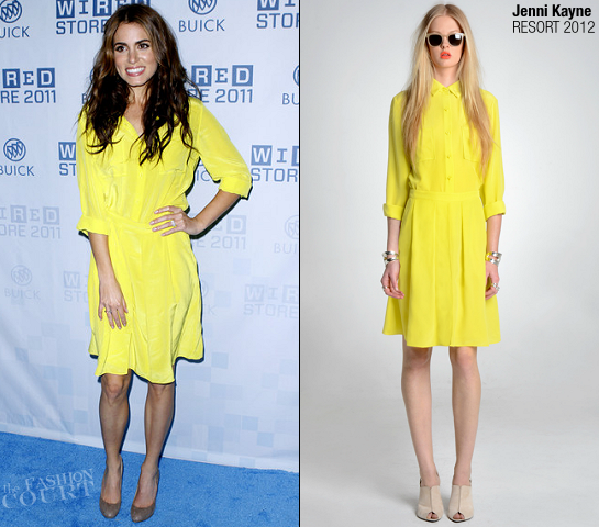 Nikki Reed in Jenni Kayne | 2011 Wired Store Opening Night Party