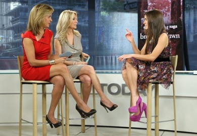 Kathie Lee Gifford, Nikki Reed and Hoda Kotb | NBC's 'The Today Show'