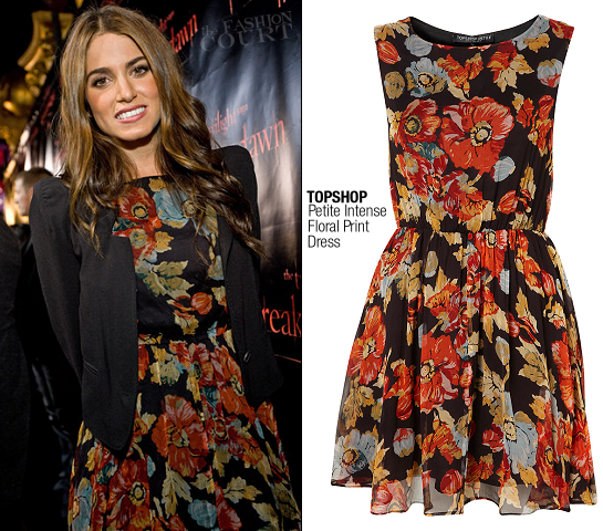 Nikki Reed in Topshop | 'The Twilight Saga: Breaking Dawn - Part 1' Concert Tour - Chicago
