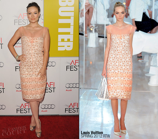 Olivia Wilde in Louis Vuitton | AFI FEST 2011 Premiere - 'Butter'