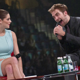 Ashley Greene & Robert Pattinson | 'The Twilight Saga: Breaking Dawn - Part 1' Stockholm Fan Event