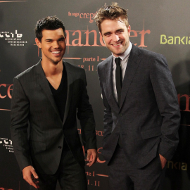 Taylor Lautner & Robert Pattinson | 'The Twilight Saga: Breaking Dawn - Part 1' Barcelona Premiere