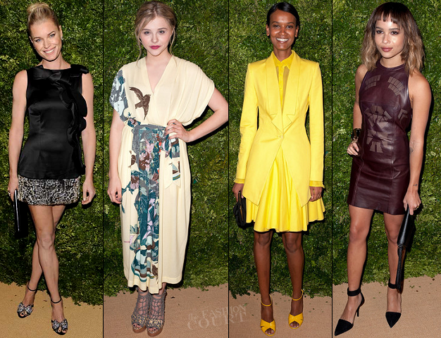 Rebecca Romjin, Chloe Moretz, Liya Kebede & Zoe Kravitz | 8th Annual CFDA/Vogue Fashion Fund Awards