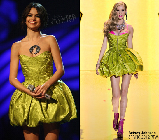Selena Gomez in Betsey Johnson | MTV Europe Music Awards 2011