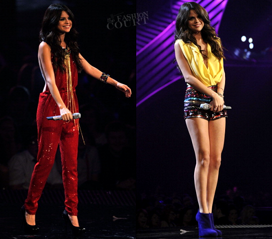 Selena Gomez in The Blonds & Topshop | MTV Europe Music Awards 2011