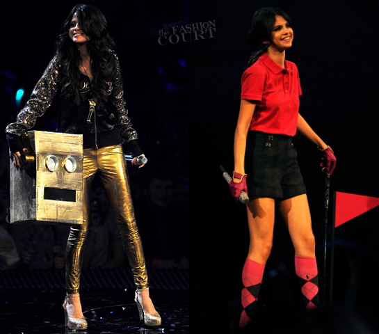 Selena Gomez in Custom | MTV Europe Music Awards 2011