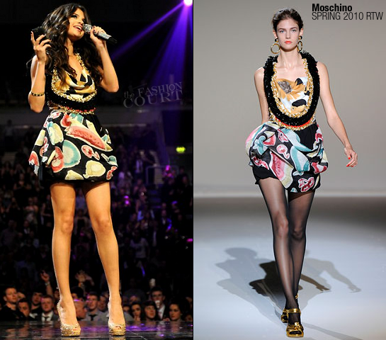 Selena Gomez in Moschino | MTV Europe Music Awards 2011