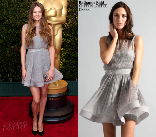 Shailene Woodley in Katharine Kidd | Academy Of Motion Picture Arts And Sciences' 3rd Annual Governors Awards