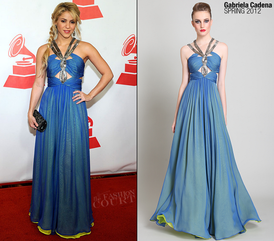 Shakira in Gabriela Cadena | 2011 Latin Recording Academy 'Person Of The Year'