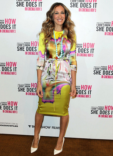 Sarah Jessica Parker in Vera Wang | 'I Don't Know How She Does It' Melbourne Press Conference
