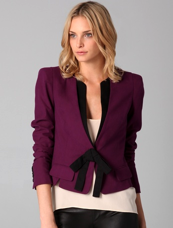 Robert Rodriguez Short Bow Jacket