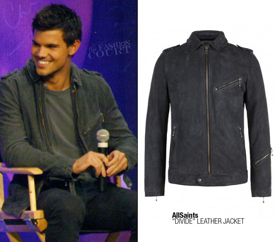 Taylor Lautner in AllSaints | The Official Twilight Convention - Los Angeles