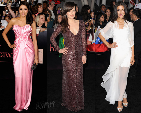 "Tinsel Korey, Elizabeth Reaser & Julia Jones | ""The Twilight Saga: Breaking Dawn - Part 1"" LA Premiere"