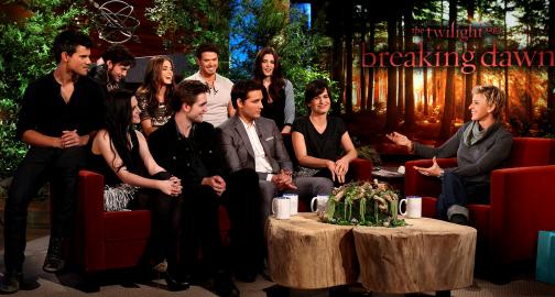 Breaking Down 'Twilight' Style on 'The Ellen Show'!