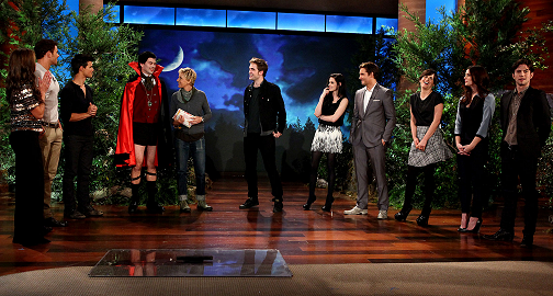Breaking Down 'Twilight' Style on 'The Ellen Show'!