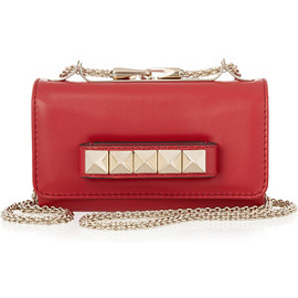 Valentino VaVaVoom Leather Shoulder Bag