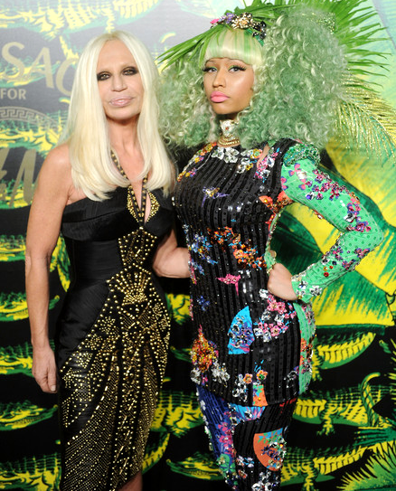 The Stars Celebrate Versace for H&M at New York Fashion Show