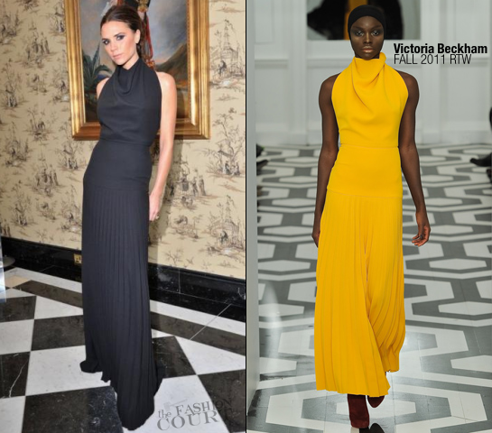 Victoria Beckham in Victoria Beckham Collection | 2011 British Fashion Awards