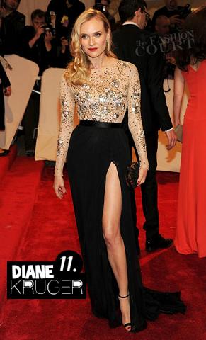 Diane Kruger in Jason Wu | 2011 MET Gala