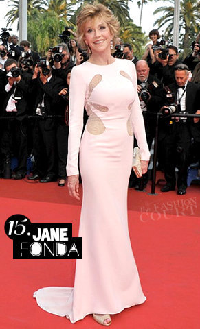 Jane Fonda in Emilio Pucci | 2011 Cannes Film Festival