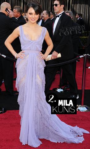 Mila Kunis in Elie Saab | 2011 Oscars