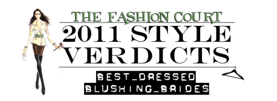 2011 Style Verdicts: Best Dressed Blushing Brides