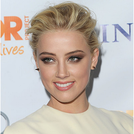 Amber Heard in Alessandra Rich | The Trevor Project's 2011 Trevor Live!